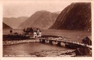Norway Old Vintage Antique Post Card Norge, Grand Hotel Unused