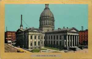 St Louis Missouri~Court House~1906 Ullman Gold Border Series~Postcard