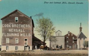 HENSALL , Ontario , 1908 ; Flour & Oatmeal Mills