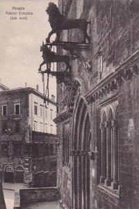 Palazzo Comunale (Lato Nord), Perugia (Umbria), Italy, 1900-1910s