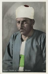 egypt, Cheikh of El-Azhar Mosque (1930s)