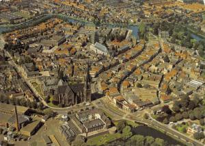 Vintage 1979 Postcard Woerden, Panorama, Holland, Netherlands D7