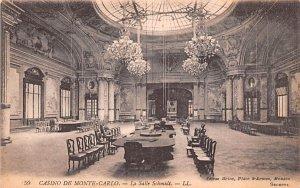 Casino, La Salle Schmidt Monte Carlo Unused