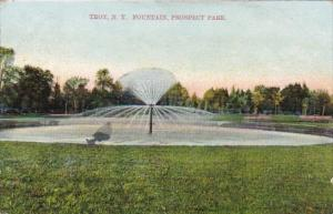New York Troy Fountain In Prospect Park 1910