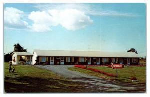 1950s/60s Sunset Ridge Motel, Rochester, NY Postcard