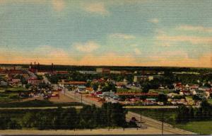 Wyoming Cheyenne Panoramic View Curteich