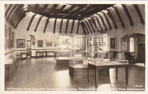 Kentucky Henderson Interior Main Gallery Audubon Memorial Museum Real Photo