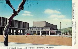 Japan, Hiroshima Peace Memorial Building, Public Hall
