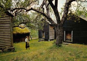 Norway Postcard Hardanger Folk Museum, Utne Z74