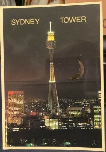 Australia Sydney Tower - posted 1998 Large Card