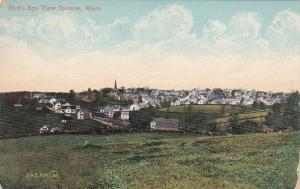 SPENCER, Massachusetts, 1900-1910's; Bird's Eye View