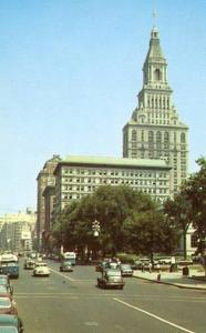 CT - Hartford. Main Street, Travelers Tower