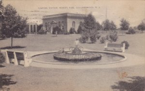 COLLINGSWOOD, New Jersey; Pumping Station, Roberts Park, Fountain, PU-1942