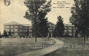 The Northfield School for Girls East Northfield MA Unused