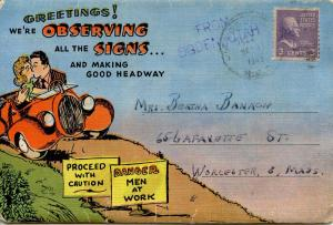 Folder - Observing the Signs -   (18 Comics + Covers + Letter)  **Humorous an...