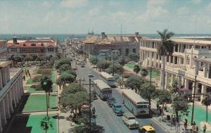 King Street looking towards Harbour, KINGSTON, Dominion of Jamaica, 40-60s