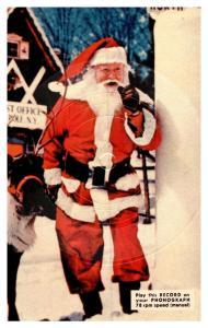 Santa Claus , Red Suit , 78 rpm
