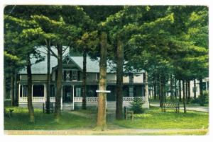 Day to Corinth, New York used 1908 Postcard, The Resseguie, Sacandaga Park