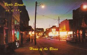 Tennessee Memphis Beale Street Home Of The Blues 1972