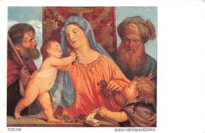 Tizian: Kirschenmadonna, Madonna of the Cherries