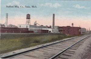 IONIA, Michigan, 1900-1910s; Stafford Mfg. Co., Railroad Tracks