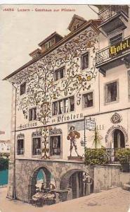 Switzerland Luzern Gasthaus zur Pfistern