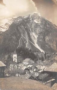 Austria Steinbach. Salzkammergut, Mountain Peak, Gebirge, Gipfel AK