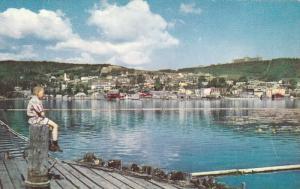 Gaspe Village, Across Bay, GASPE, Quebec, Canada, 40-60´