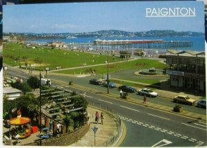 England Paignton The Promenade and Pier - posted 1999