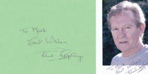 Paul Copley Shameless Hornblower 2x Hand Signed Photo Autograph s