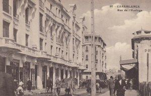 Casablanca , Morocco , 00-10s ; Rue de l'Horloge