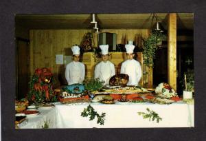 La Cote Surprise Hotel Perce Restaurant QUEBEC CANADA Postcard, Carte Postale