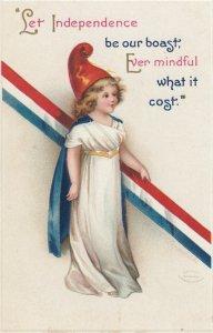 CLAPSADDLE ; July 4th , Lady Liberty , 00-10s