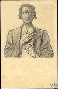 Dutch Symbolist JAN TOOROP - Apostle Bartholomew