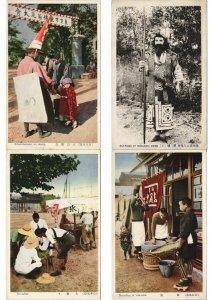JAPAN JAPON ETHNIC TYPES PROFESSIONS 70 CPA Pre-1940 (L3048)