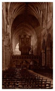 17269  Exeter Cathedral Nave looking East  RPC  Judges LTD  no. 4324