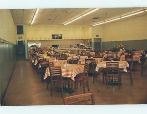 Pre-1980 BOONE'S CAFETERIA RESTAURANT Portland Maine ME M9905