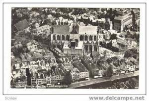 RP Netherlands  30-40s, Leiden, Hooglandse Kerk met omgeving