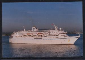 Ship Calypso Southampton 1996 colour  unused