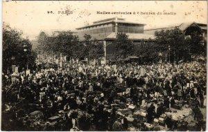 CPA PARIS 1e - Le Halles Centrales á 6 heures du matin (81573)