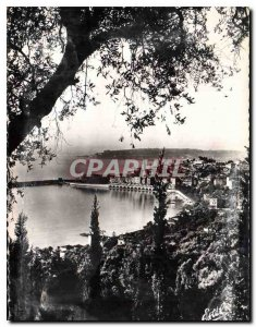Postcard Moderne Menton The City view of Colombieres