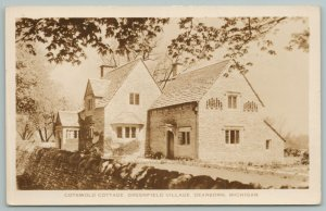 Dearborn Michigan~Cotswold Cottage Greenfield Village~Real Photo Postcard~RPPC