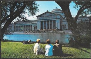 Illinois, Chicago, Museum Science & Industry, unused