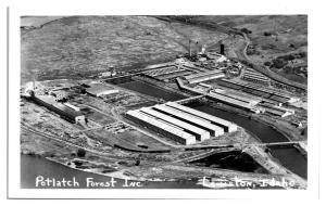 RPPC Potlatch Forest Inc. Lewiston, ID Real Photo Postcard *5B