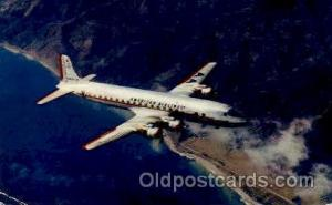 American Airlines DC-7 Flag Ship  Airplane, Aviation, Postcard Post Card  Ame...
