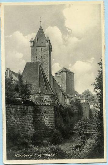 Germany - Nurnberg, Luginsland     *RPPC