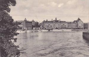 Ships, Parti Of Norrstrom Och Grand Hotel, Stockholm, Sweden, 1900-1910s