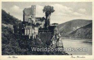 Burg Rheinstein Am Rhein Germany Unused