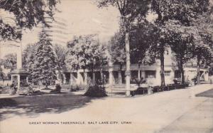 Utah Salt Lake City Great Mormon Tabernacle 1941