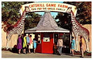 New York  Catskill Game Farm,  Entrance, Ticket booth